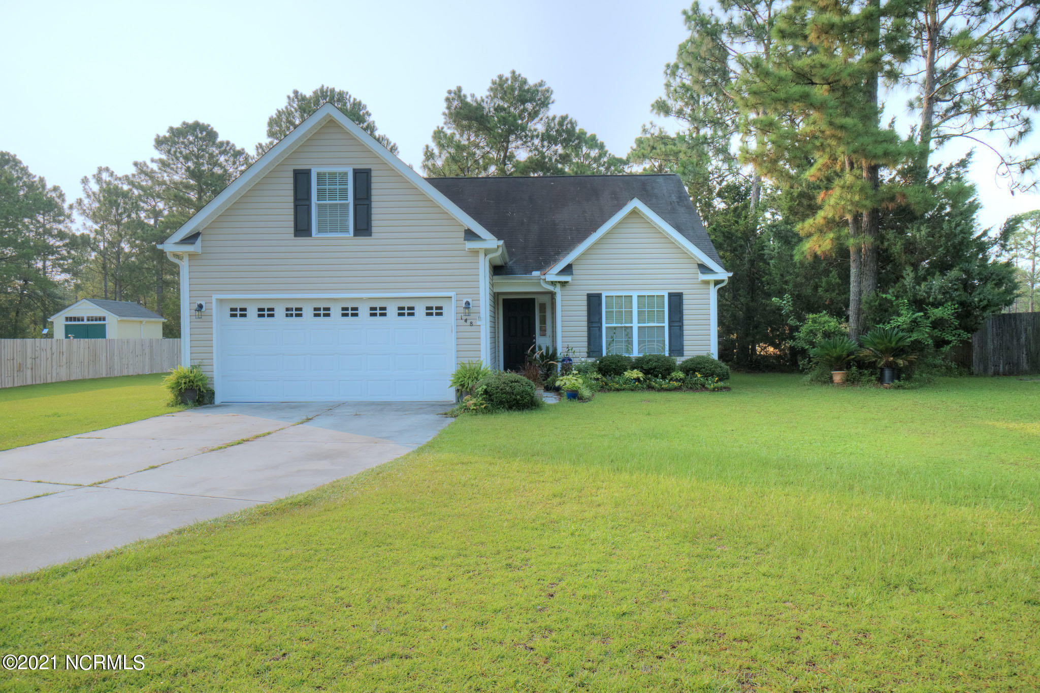 Welcome to this amazing home with 3 bedrooms AND a BONUS room! The home features open floor plan concept, conveniently located in Hubert, minutes from the back gate of Camp Lejeune and close to the local beaches. Spacious 2 car garage. Large backyard ideal for entertaining family and friends. Master suite is on the first floor of the home.