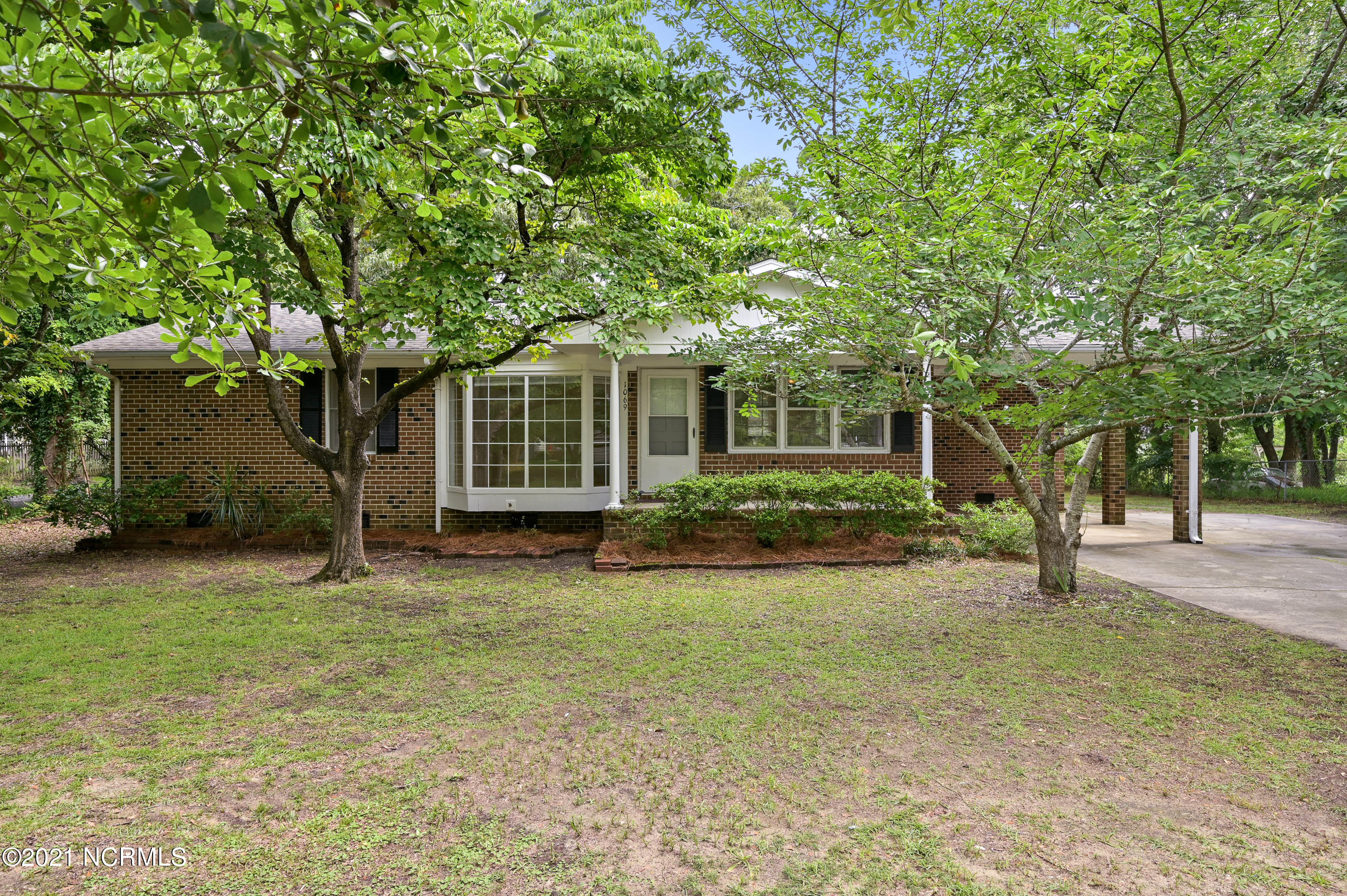 Come see this charming brick ranch situated steps from the Intercoastal!  This 3 BR 2 Bath home with remodel potential is perfectly located between Topsail Beach and Wilmington.  From the porch you can see the boats on the intercoastal surrounded by stunning mature trees to add a bit of privacy.  The spacious back yard also features a 600 sq ft garage.  Come take a look at this fantastic property while it lasts!