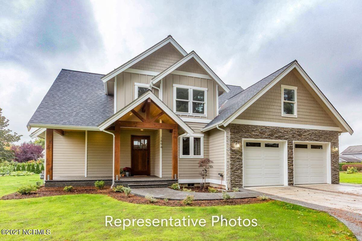Come build with J&R Homes in one of the most prestigious communities in Sneads Ferry North Carolina.  This lovely craftsman style home offers 4 bedrooms, 2.5 baths and comes standard with J&R Signature features such as LVP flooring throughout first floor, granite, tile backsplash, soft close cabinetry, and stainless steel appliances in kitchen.  Ask agent for a complete list of J&R Signature Features and available cash upgrades.  Representative photos are to show layout of home, not all features in photos are applicable. This waterfront community has many amenities to include a boat ramp, day dock, community pool, fitness center, tennis courts and more.  Mimosa Bay is minutes away from Camp Lejeune and Topsail Beaches.