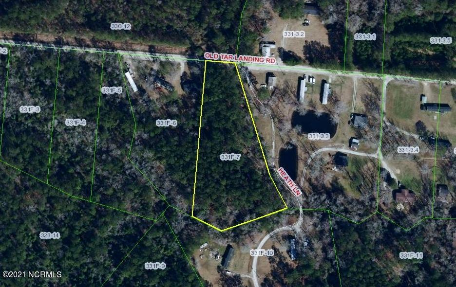 Over two acres of land for sale in Onslow County! This wooded property is located on Old Tar Landing Road.  Outside the Jacksonville city limits.  Property is zoned R 8M.  Call for more information today.