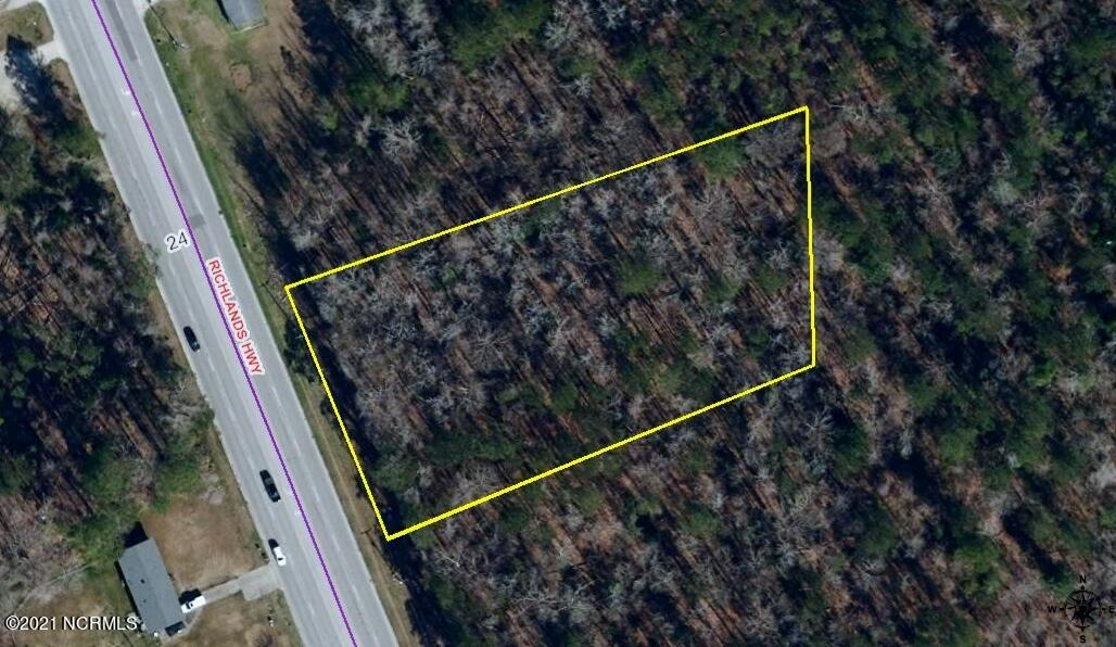 Commercial property for sale.  Fronting Richlands Hwy. 1.6+- acres with 200 ft of road frontage.  Great location in high traffic area. Call for more information today!