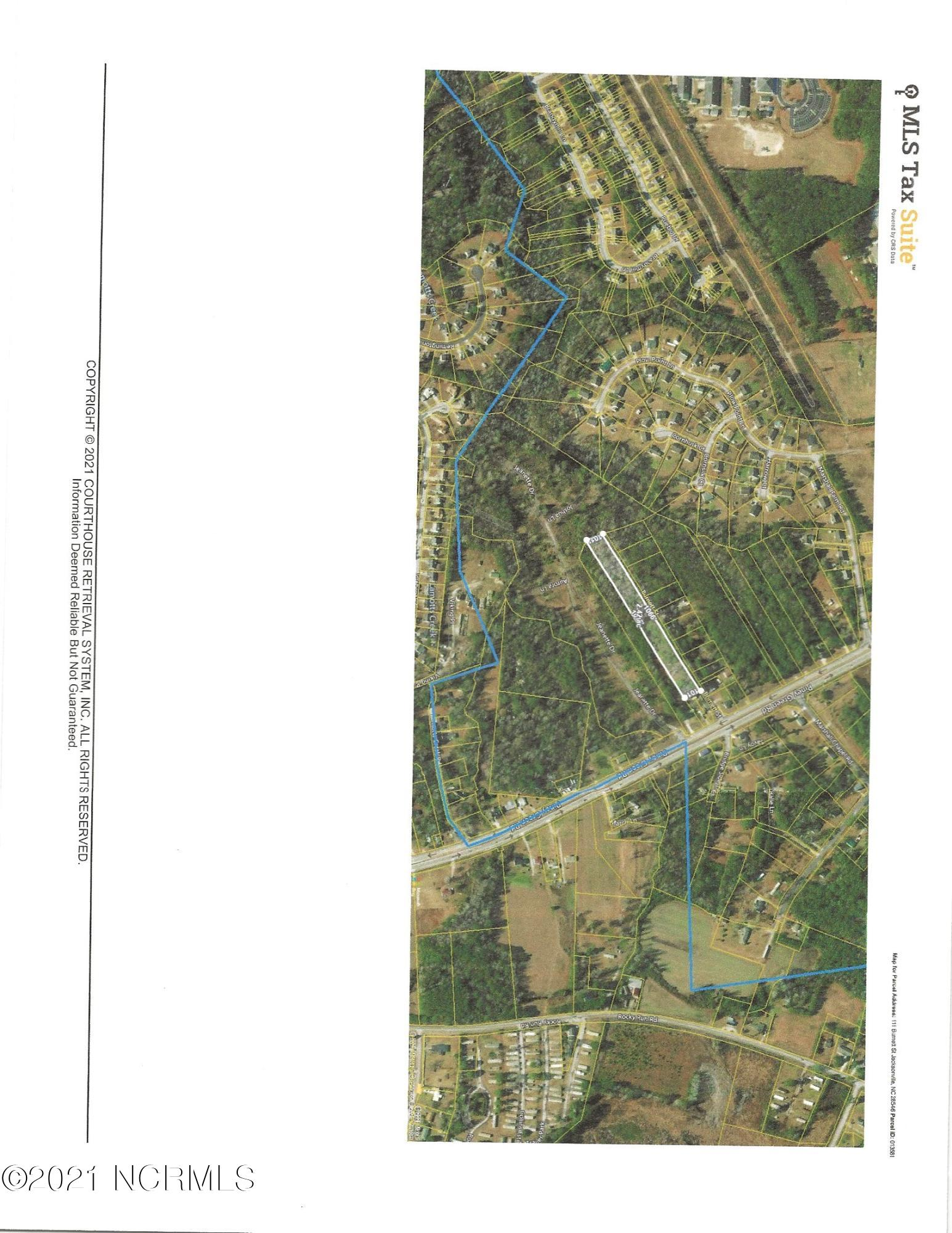This lot is Off the Piney Green Road and is 2.45 Acres. It is partially cleared and a slab has  already been build.  As you turn on Burnett you will see the sign in front of the Lot.  Seller in process getting a Survey completed.