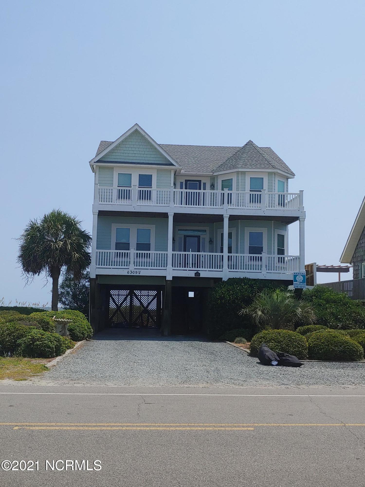 6309 W Beach Drive Oak Island, NC 28465