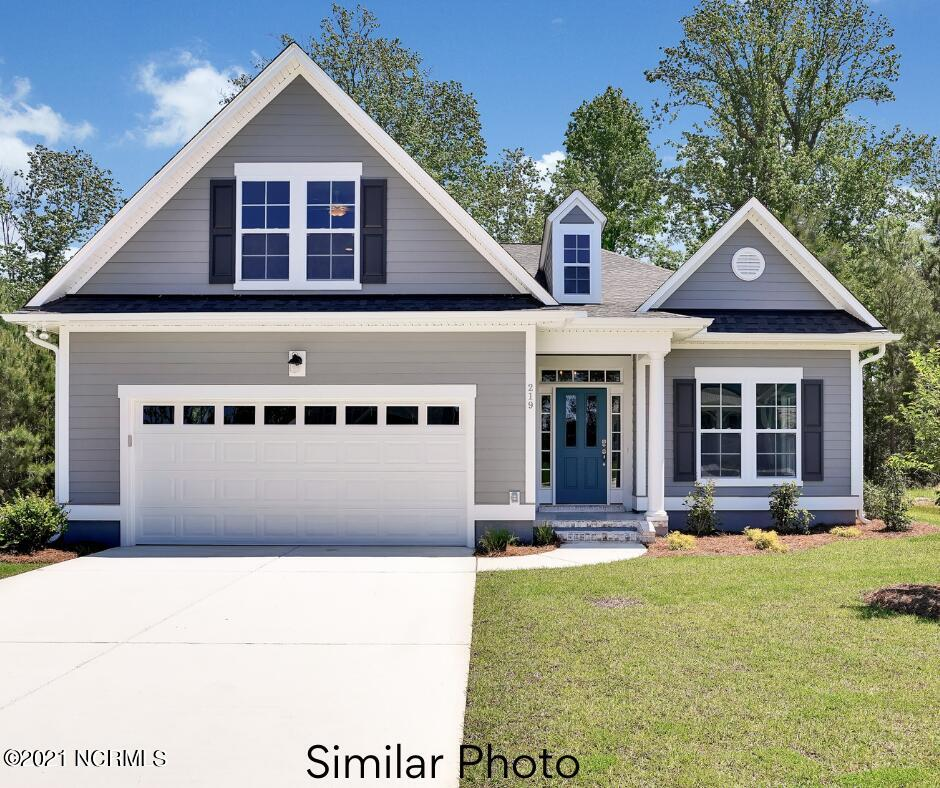 Welcome to the Angler by Logan Developers, Inc. This 2400+ heated square foot home is perfect for those coastal Carolina evenings with the patio or the glass enclosed porch on the back of the home!  The master suite offers 9ft+ trey ceiling, an en-suite bath, and a spacious walk-in closet. An additional bedroom and study are located on the main floor as well.   A spacious third bedroom with private bath located above the garage allows for guests' privacy.   Entertaining guests will be a breeze with the over-sized kitchen that boasts beautiful granite counter tops and a huge sink. Call today to schedule your tour.