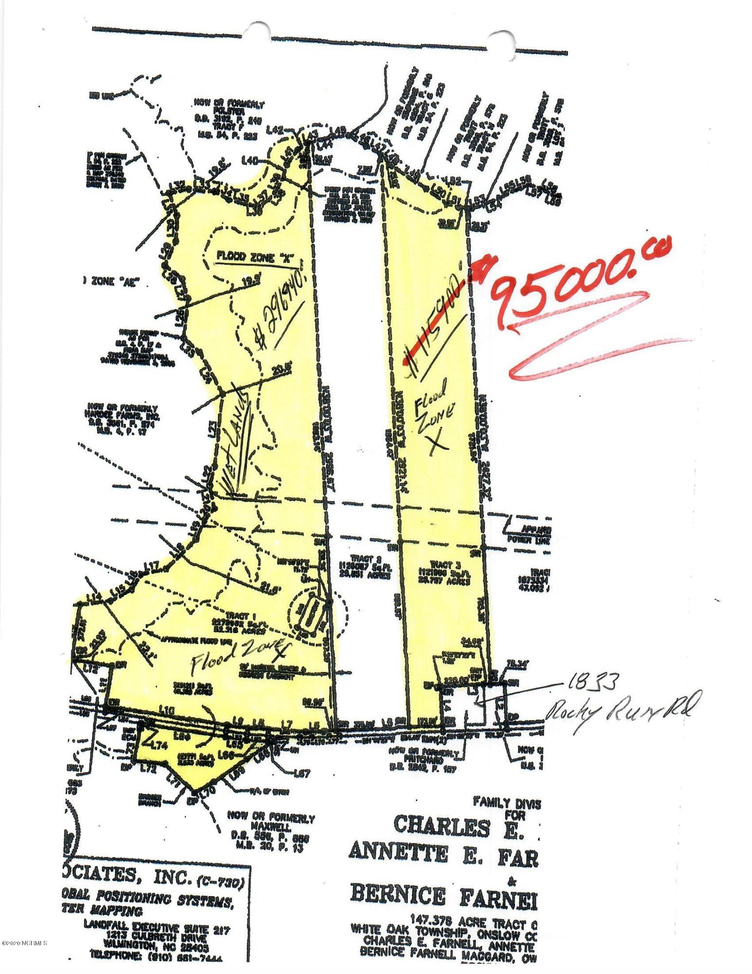 25.76 Acres According to tax records. Old Family estate already divided, other parcels may be Possible. Part Farm Land, Part Woods.