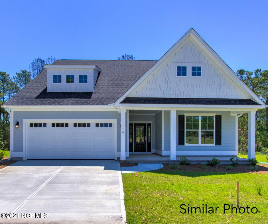 Welcome to the Cotswold 3 by Windsor Homes in the beautiful resort style community of Summerhouse On Everett Bay. This artfully designed home offers 4-bedrooms,3-bathrooms and 2500+ heated sq.ft. of living. Formal dining room with wainscoting and coffered ceiling which is adjacent to a beautiful kitchen with an island, slide-in electric range and LVP flooring. A spacious living room with fireplace and sliding door leading out to the covered screen porch and wood deck. Master bedroom is located on the first floor and features an en-suite bathroom and walk-in closet. Two additional bedrooms, a full bath are located on the second floor. Call today to schedule a tour! WH2001