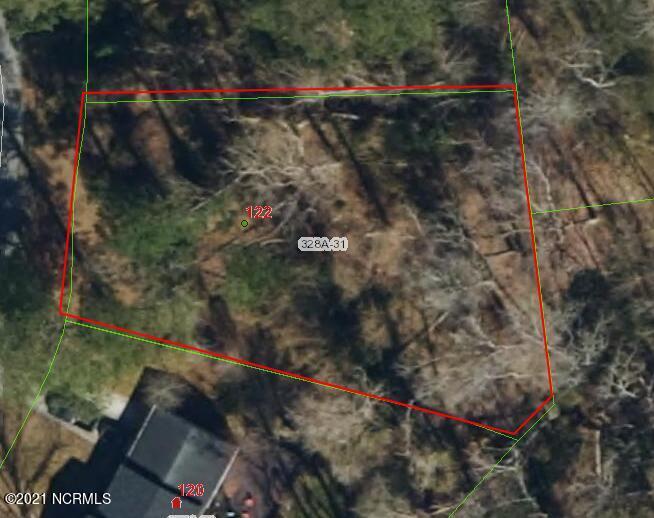 Uncleared lot located in Oak Ridge outside Jacksonville city limits.
