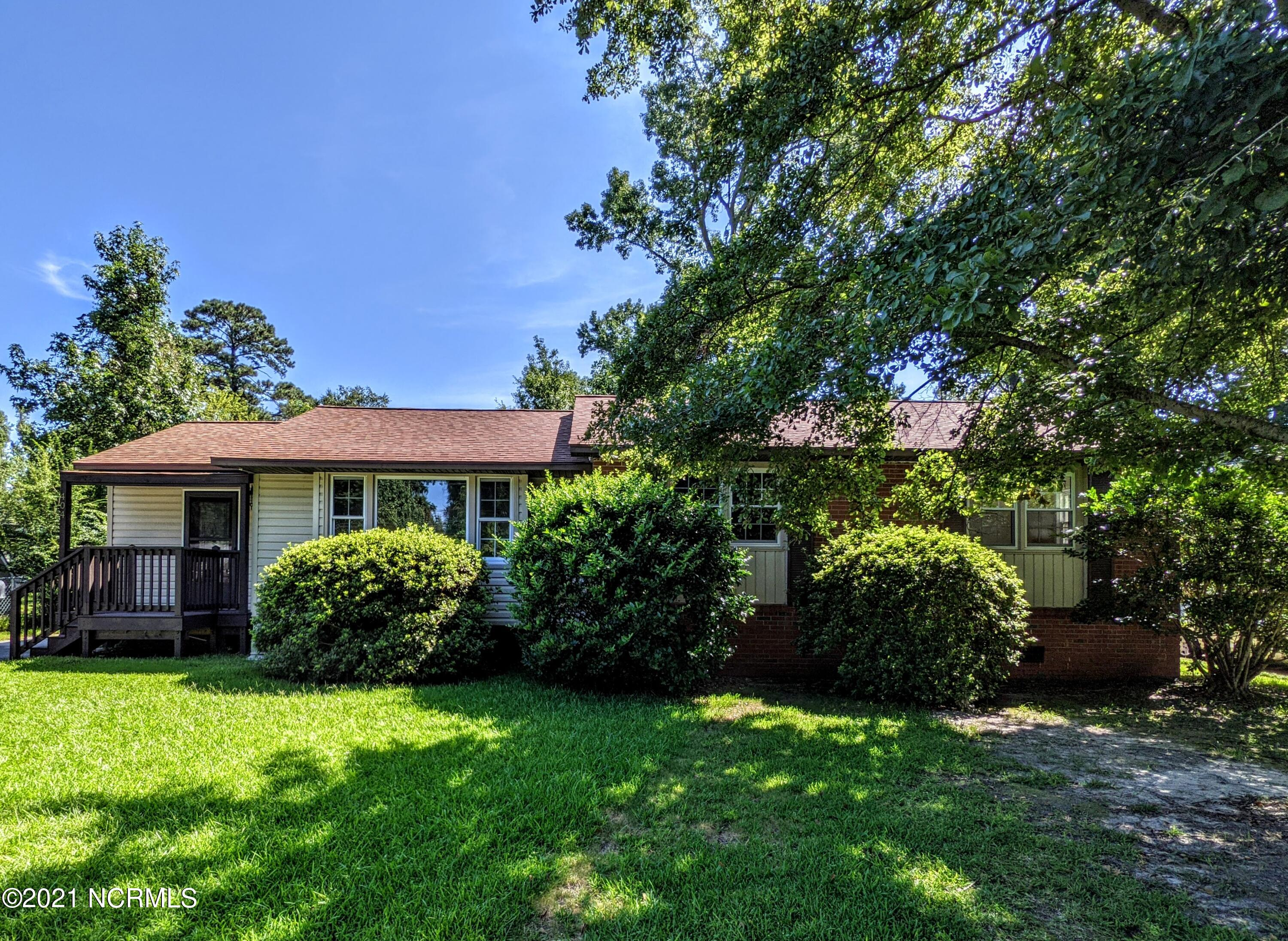 Fresh paint throughout most of the home, and new carpet in 3 of the bedrooms just installed! This beautiful 4 bedroom, 1 bath home sits in the cozy Northwoods neighborhood, right in the center of Jacksonville! From the covered front porch, through the foyer, you'll be welcomed into a large living room space with amazing laminate flooring. To the side is bedroom number 4, that can be easily turned into a bonus room/office, if you so desire. Next is a spacious dining area, that leads into a spacious galley kitchen. You'll be sure to appreciate the large amount of counter space for preparing meals, and tons of cabinet space for storage! The kitchen also has an amazing suite of stainless steel appliances, that are complimented with a modern backsplash. The laundry closet is easily accessible from this space, with extra storage as well. The bathroom is bright and refreshing, and has a spacious linen closet and tub/shower combo as well. There are then 3 additional bedrooms, that are all spacious and all come with installed ceiling fans. The home is located near the main shopping centers, restaurants and theaters. You're also just minutes away from the mall and all surrounding military bases. This Amazing Home is ready to be seen with a short notice, so schedule your showing today!