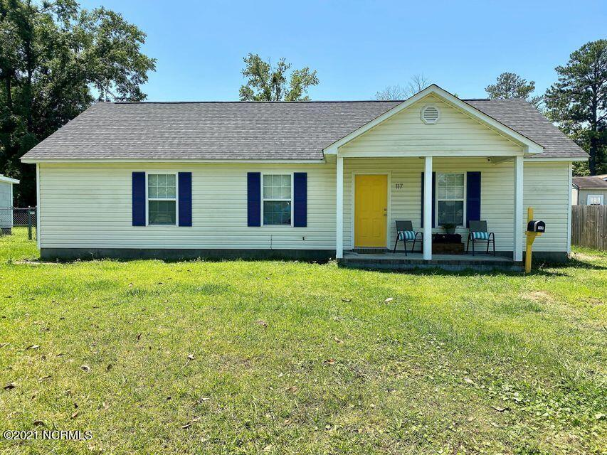 Looking for an investment property with a long-term lease already in place? Look no further! Located in the heart of Jacksonville in the Oak Grove subdivision, this 3 bedroom 2 bathroom home has LVP flooring (installed spring 2020) throughout the living room, kitchen/dining area and hallway. As you walk in, you're greeted with the living room with windows that allow plenty of natural light! The eat-in kitchen has a pantry and plenty of cabinet space for storage, along with a nicely sized area to fit a dining table to enjoy your family dinners. A separate laundry room leads out to the backyard with plenty of privacy. New roof installed in Spring 2020! Close to Marine Corps Bases Camp Lejeune and New River Air Station, along with shopping, restaurants and schools!