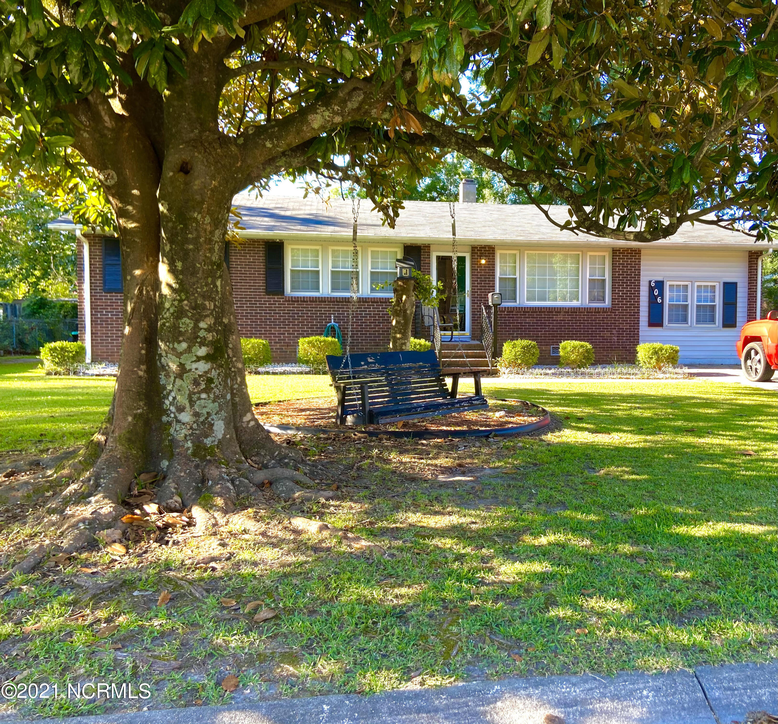 Welcome to 606 Forest Grove Avenue! You will be delighted when you arrive at this home to see it beautifully shaded by trees with a swing out front! There are 4 bedrooms, 2 bathrooms, and an absolutely gorgeous back yard. For being inside city limits, you will be shocked at how much yard there is out back. The roof AND HVAC are only around 6 years old.  The owner has upgraded and updated the house so much, you will enjoy every step you take! Also, you won't know what to do with all of the parking space that this house provides! Schedule your showing ASAP, since it's going to go quick! ** Seller providing a $650 home warranty****Front door locks upon shutting, no need to manually lock. See Showingtime for code. Key in lockbox is for the back door in case the front door gets locked by previous agent**