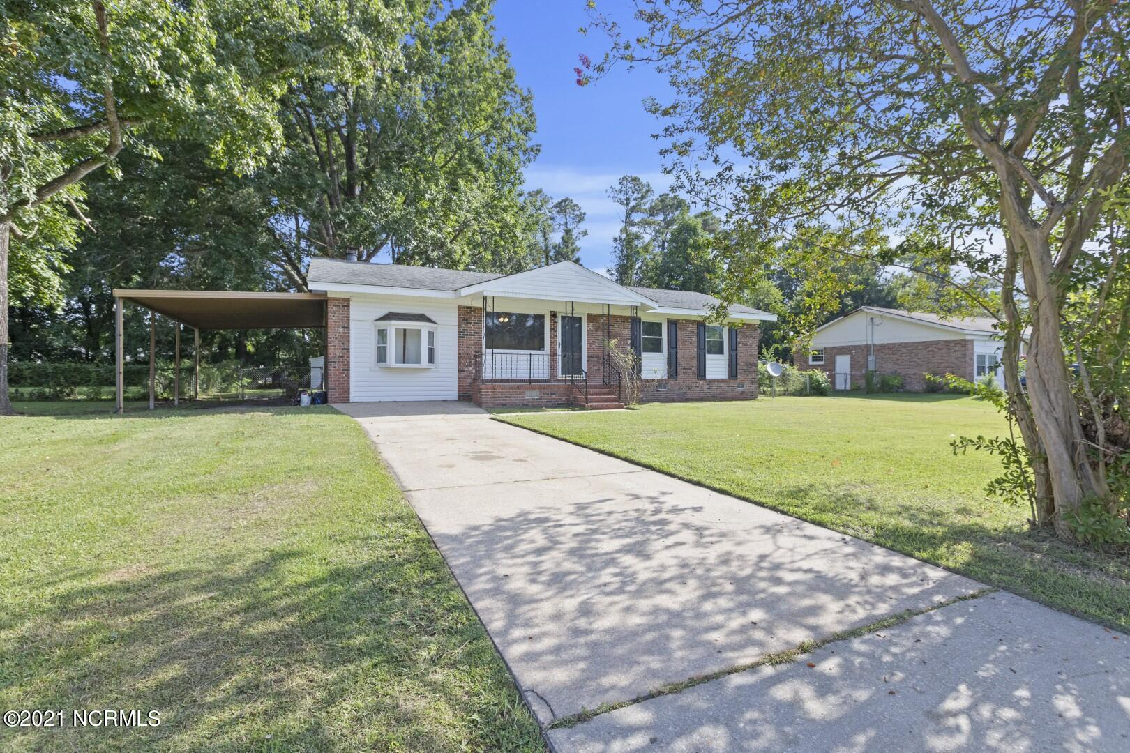 This Cozy 3-bedroom, 2-bathroom brick home is located in the Montclair subdivision off of Piney Green Rd, just minutes away from nearby schools, area bases and shops. When you open the front-door, you will walk into the living room and immediately fall in love with the generous amount of natural light showcasing the new LVP flooring that runs throughout most of the home. Key features in this home not only include a newly renovated galley style kitchen with white cabinets, tiled backsplash and gorgeous stainless-steel appliances but also a spacious stepdown bonus room with a charming bay window anda wood burning fireplace for those times when you just want to relax. The exterior of property comes with a covered overhang on the side of the house,a wood deck overlooking the back yard andeven a spacious shed. All perfect additions for entertaining family and friends outdoors!