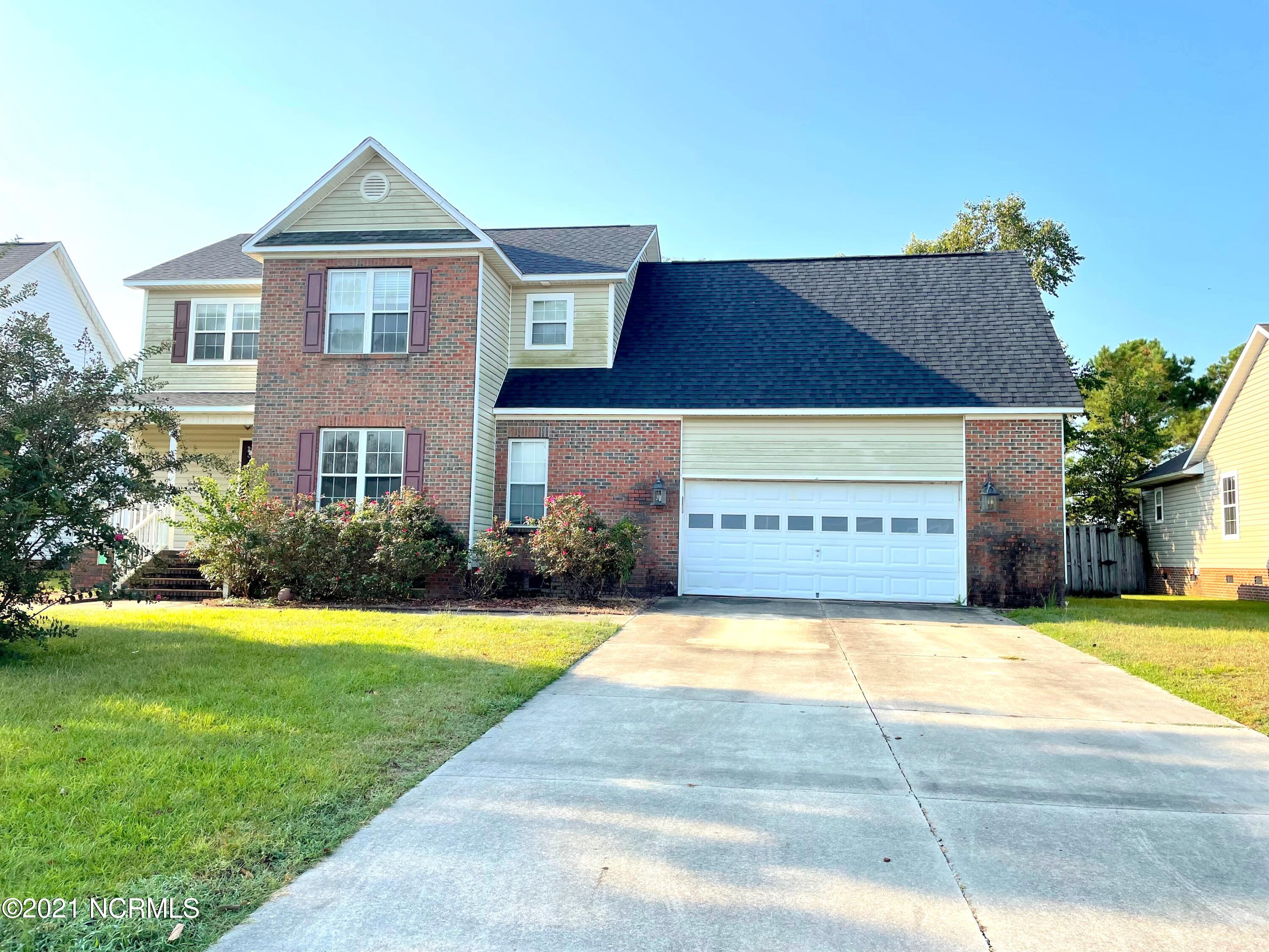 If you are looking for a house that you could make your own then come see 212 Lansing Court in Williamsburg Plantations! With just a little TLC, this home will be absolutely amazing! It features 4 bedrooms, 2 and a half baths and just over 2200 heated square feet, plenty of room for your personal touch! Located on a cul-de-sac and just minutes to Western Blvd, location is definitely a huge perk! Owners are offering an allowance to go towards repairs/updates/closing costs, which ever is preferred to any potential buyers. New roof installed in 2018 and HVAC replaced in 2019 by Kennedy Heating and Air. Take a peek and let your imagination design your dream home!