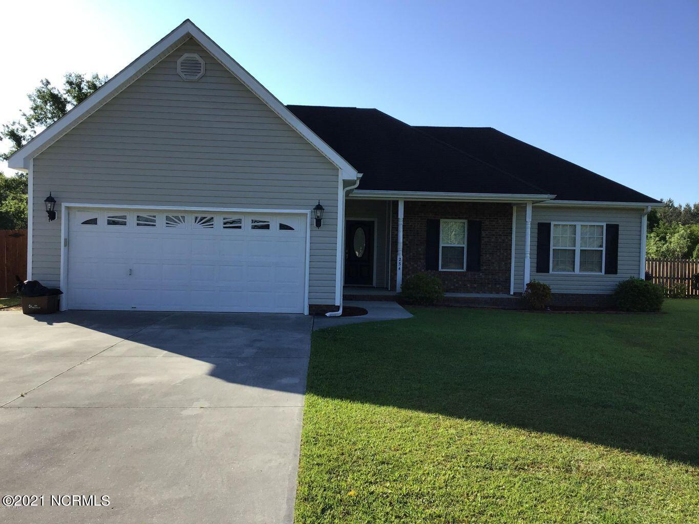Away from the hustle and bustle of city life this home in Brookstone will fit your family's needs!  Featuring four bedrooms, two full baths, large living room with fireplace, dining area, kitchen with appliances, laundry room, garage, fenced backyard with open deck and enjoy the cooler evening on the front porch! Call for you preview!
