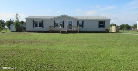 Located in Stella Farms subdivision this spacious manufactured home has huge living room and separate den that is open to the dining area and kitchen.  Main bathroom with two sinks, garden tub and shower. Large back yard with fence. Property is owned by the Secretary of Veterans Affairs and is being sold as is. *Property may be eligible for seller financing. (Vendee)
