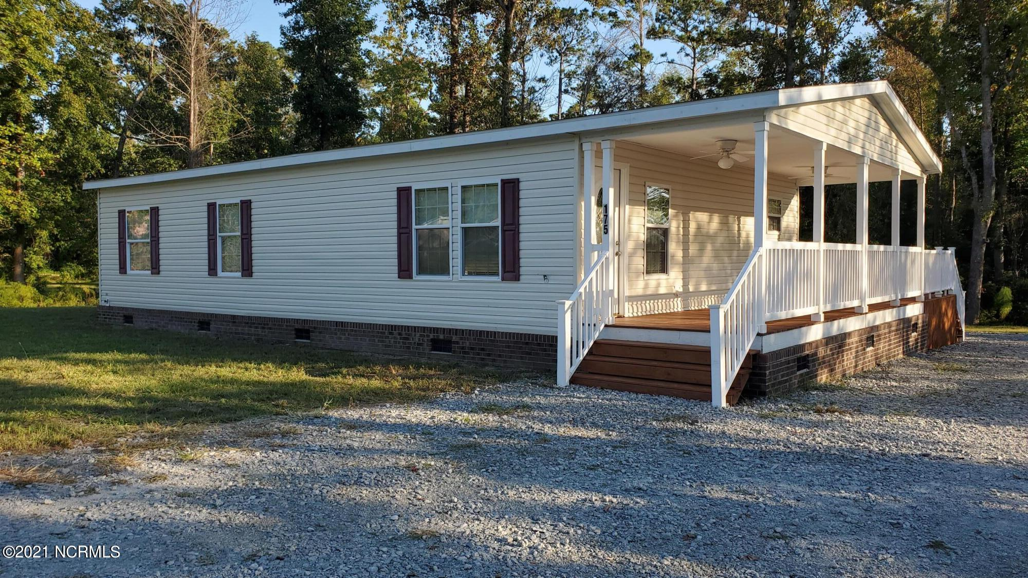 Updated 3 bedroom, 2 bath mobile home with new flooring throughout. Water view from porch and deck. Move in ready!