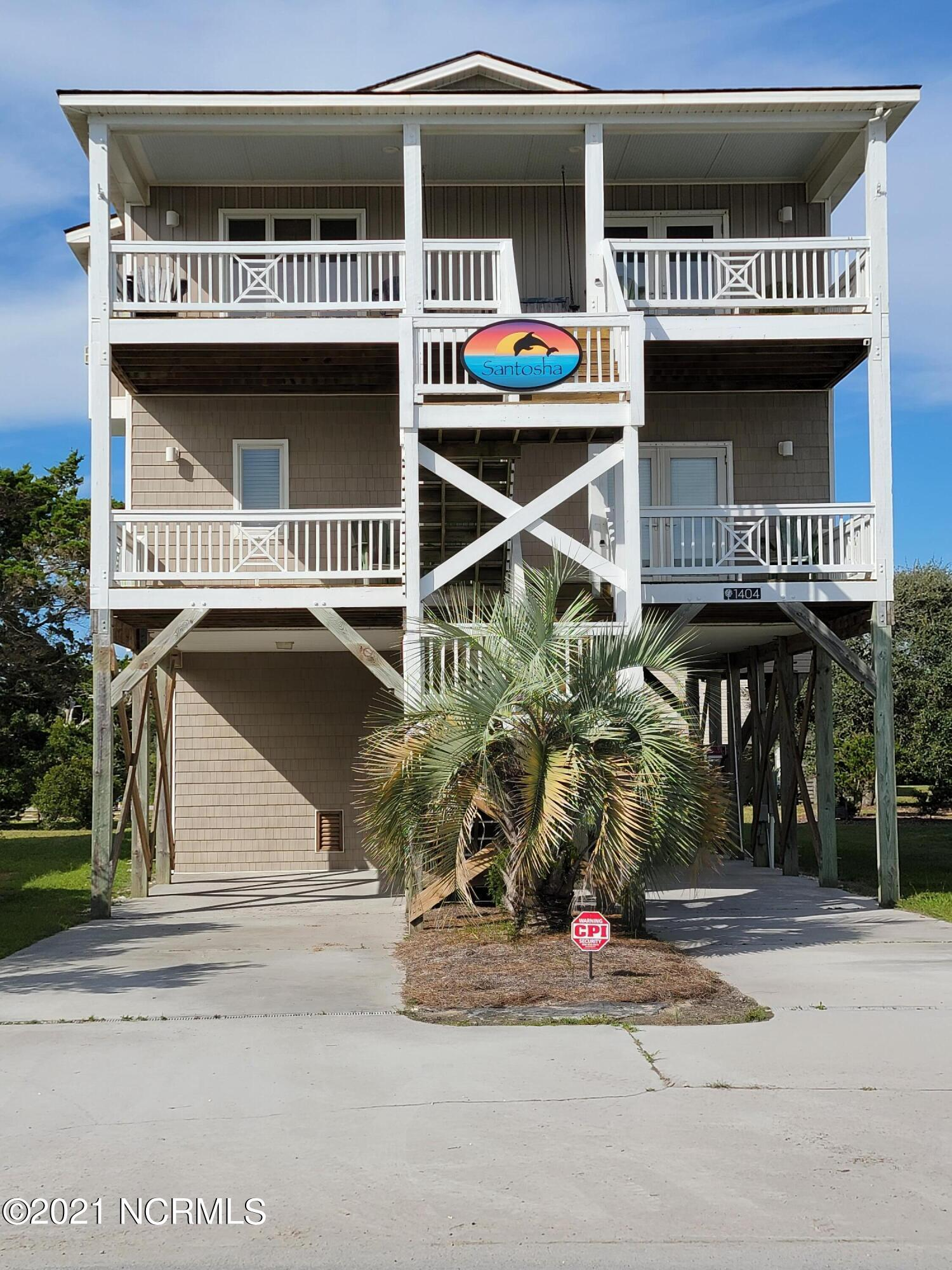 1404 E Dolphin Drive Oak Island, NC 28465