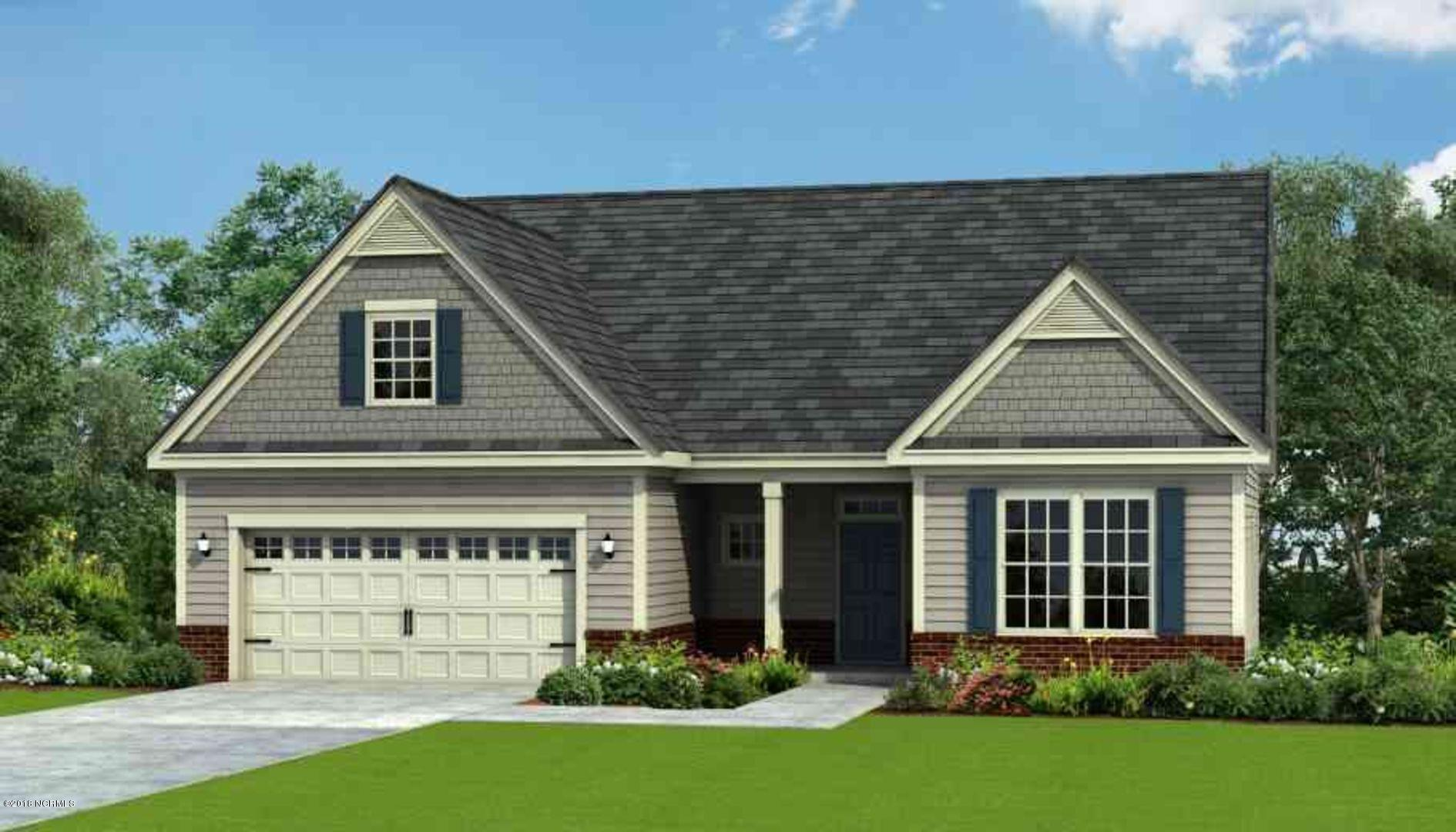PRESALE, additional homesites available. The 'Wrightsville 2 is an open concept ranch plan offering over 2611 heated square feet. The entrance of this home opens to a foyer with and leads to a spacious family room. The living room is bookended by windows letting in lots of light and open floorplan is great for entertaining. The kitchen is equipped with a pantry & an eat-at-island. The 13'x13' casual dining room is directly off the kitchen. The rest of the main floor living consists of the Owners Suite, Owners Bathroom, spacious 2nd & 3rd bedrooms, a full bath, and a laundry room. Upstairs you will also find another large bonus room, bedroom and full bathroom. Photos, measurements and descriptions are renderings and may not be exact.