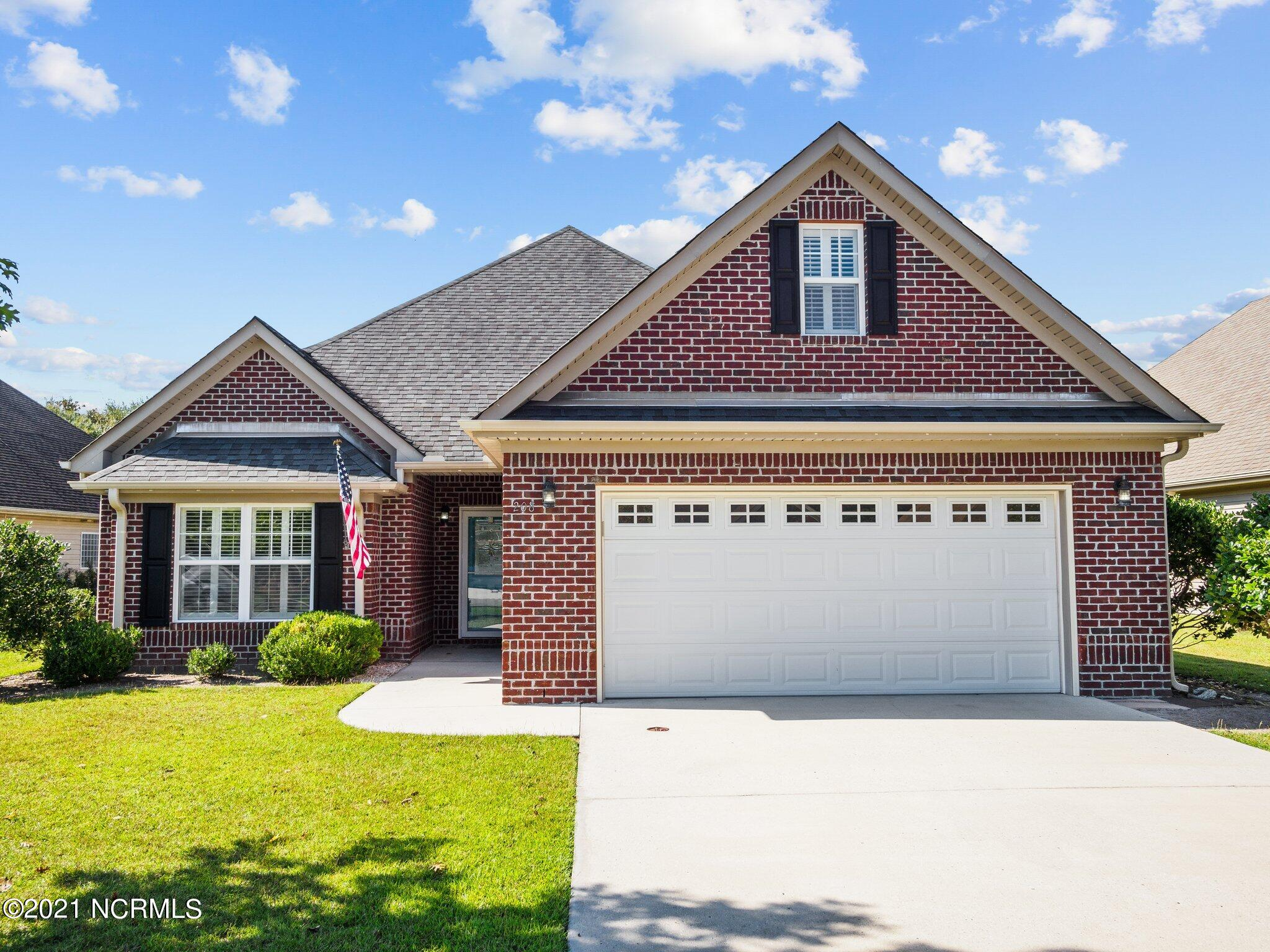 Check out this one and half story brick 3 bedroom 2 full and 2 half baths house located close to MARSOC & MCB Camp LeJeune Sneads Ferry gates and Court House Bay area. You're also close to the beach, shopping as well as about half way between Jacksonville & Wilmington. The open living kitchen area with a large granite bar and plenty of countertop & cabinets is waiting for you to put out a spread for your entertaining. You'll have a large screen porch just off the living area as well as from your master ensuite! Upstairs is a bonus room and half bath for your office, game room whatever works for you. Remember there is a fenced in back yard. Call to see if this is the house for you!
