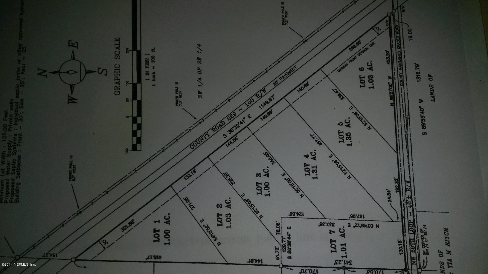 A01 COUNTY ROAD 229, STARKE, FLORIDA 32091, ,Vacant land,For sale,COUNTY ROAD 229,688444