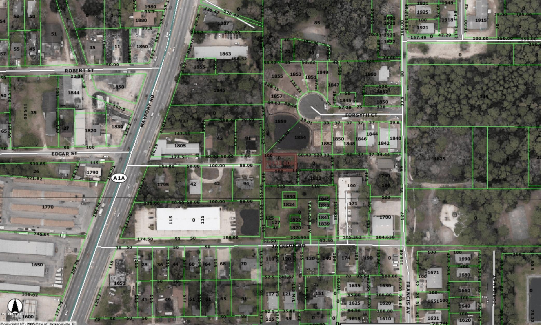 0 Stanley, ATLANTIC BEACH, FLORIDA 32233, ,Vacant land,For sale,Stanley,730094