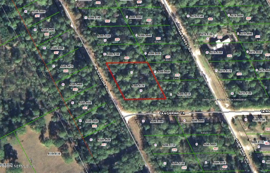 0 EDGELINE, SATSUMA, FLORIDA 32189, ,Vacant land,For sale,EDGELINE,746911