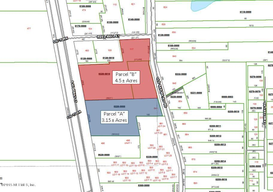 Parcel B Highway 17, SAN MATEO, FLORIDA 32187-2232, ,Vacant land,For sale,Highway 17,755292