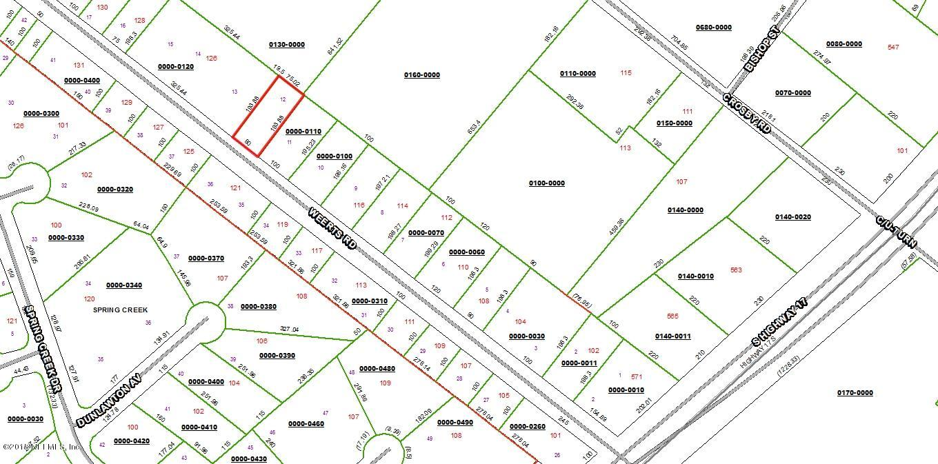 LOT 12 WEERTS, SAN MATEO, FLORIDA 32187, ,Vacant land,For sale,WEERTS,756966
