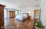Master bedroom with private balcony that overlooks Lake Marco and downtown and the stunning sunsets