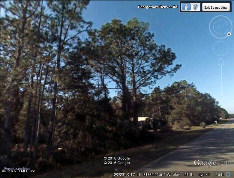 361 GEORGETOWN DENVER, GEORGETOWN, FLORIDA 32139, ,Vacant land,For sale,GEORGETOWN DENVER,826568