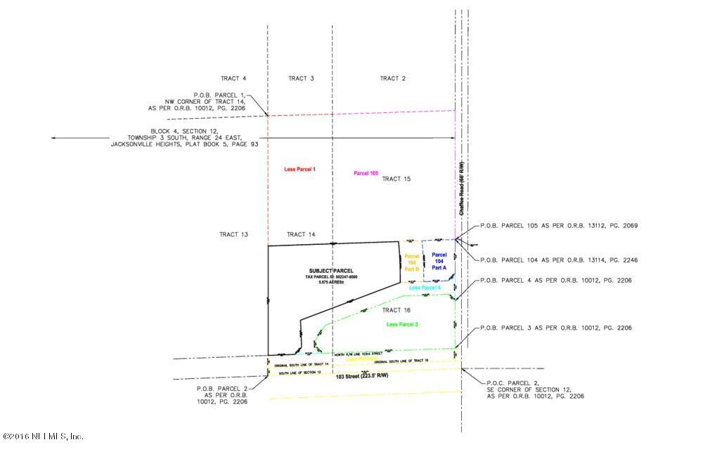 11445 103RD, JACKSONVILLE, FLORIDA 32221, ,Commercial,For sale,103RD,829300