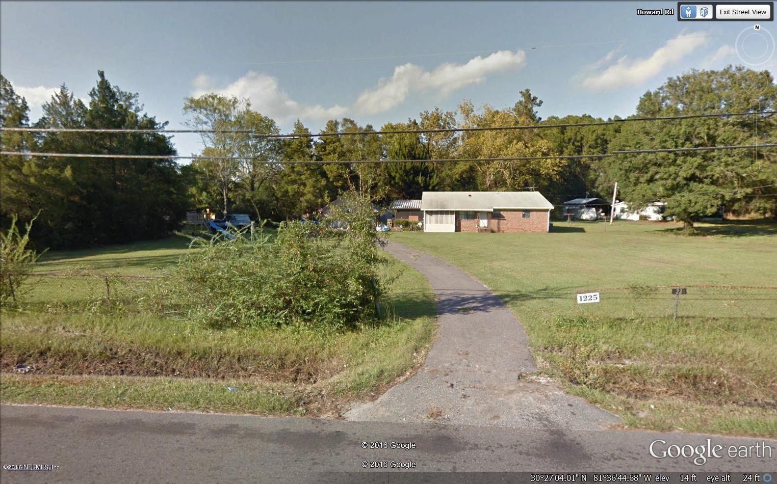 1225 HOWARD, JACKSONVILLE, FLORIDA 32218-8019, ,Vacant land,For sale,HOWARD,667796