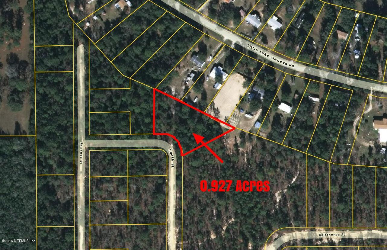 7075 SMITH, KEYSTONE HEIGHTS, FLORIDA 32656, ,Vacant land,For sale,SMITH,850552