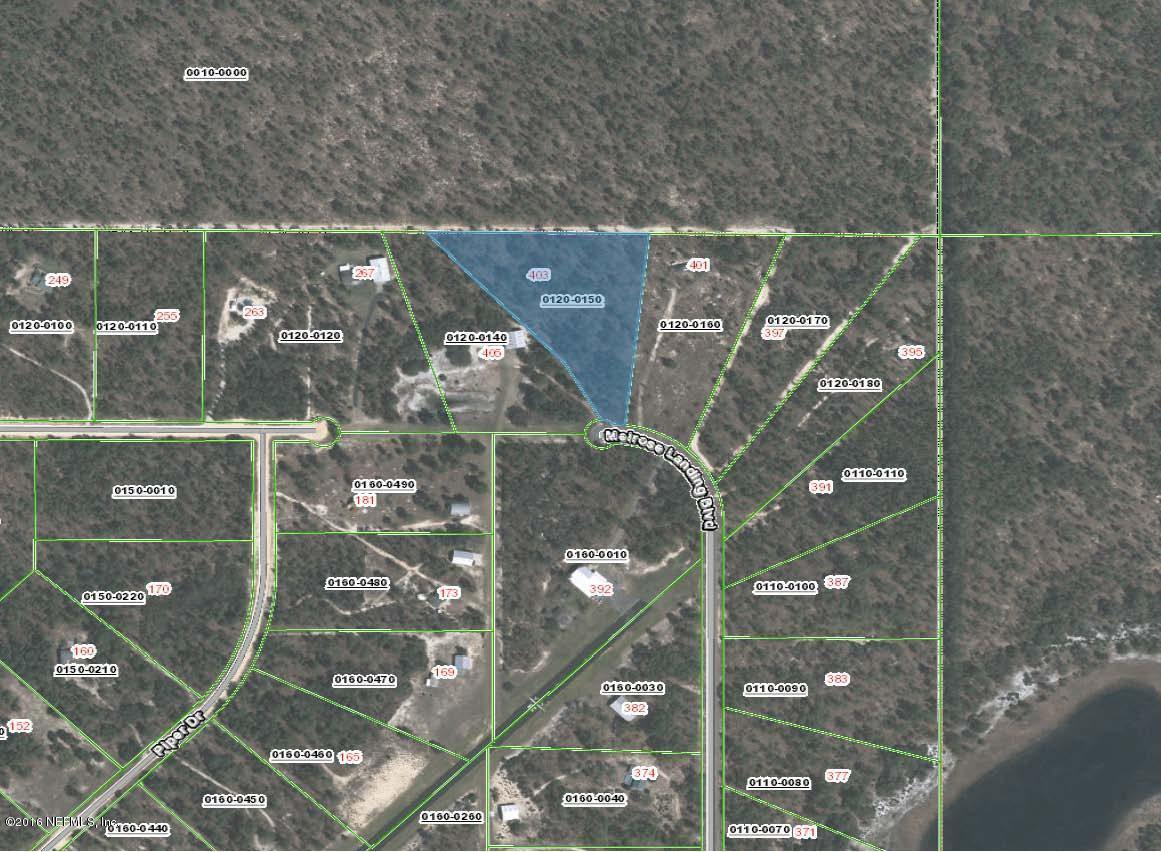 403 MELROSE LANDING, HAWTHORNE, FLORIDA 32640, ,Vacant land,For sale,MELROSE LANDING,855390