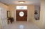 inside view of front door