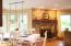 Open concept family, breakfast & kitchen