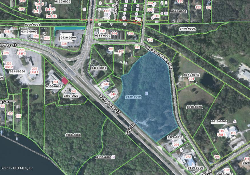 256 HIGHWAY 17, EAST PALATKA, FLORIDA 32131, ,Vacant land,For sale,HIGHWAY 17,878628