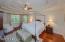 Master Bedroom with Brazilian Cherry Floors