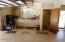 Garage with 1/2 bath