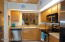 VIEW SHOWING PASS THRU TO DINING AREA, ALL APPLIANCES CONVEY