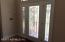 Beveled Glass Front Door and Side Lights