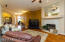 """Stunning 4"""" wood plank floors in the main living areas."""