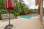 Great private patio for your enjoyment.