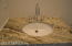 Upgraded Granite countertop, Newport Brass fixture in Guest Suite / Study bath