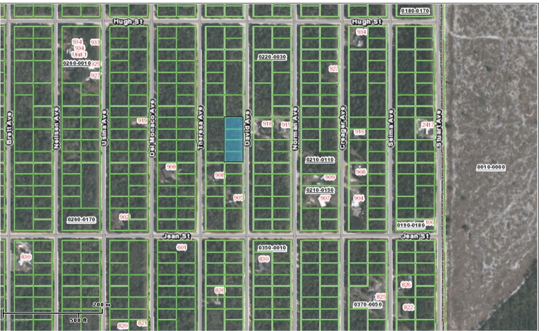 915 DAVID, INTERLACHEN, FLORIDA 32148, ,Vacant land,For sale,DAVID,894682