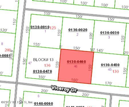 132 VICEROY, SATSUMA, FLORIDA 32189, ,Vacant land,For sale,VICEROY,893744
