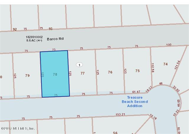 221 BARCO, ST AUGUSTINE, FLORIDA 32080, ,Vacant land,For sale,BARCO,897943