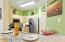 Granite Countertops in Kitchen. Brand New Stainless Steel Appliances