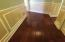 Real wood floors throughout