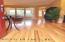 Eco-friendly bamboo hardwood flooring.