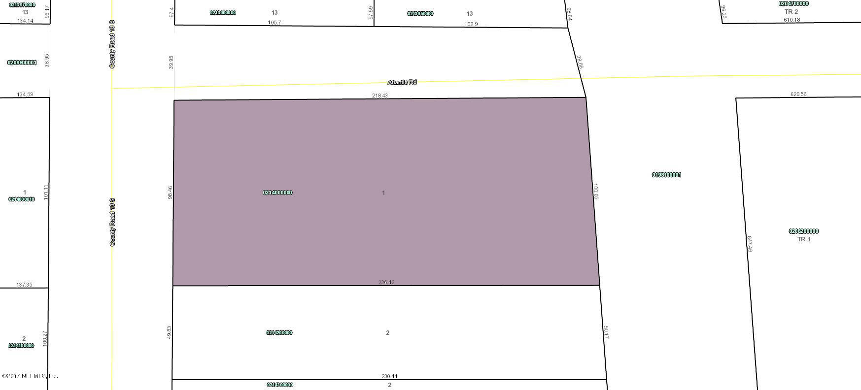 7821 ATLANTIC, ST AUGUSTINE, FLORIDA 32092, ,Vacant land,For sale,ATLANTIC,905645